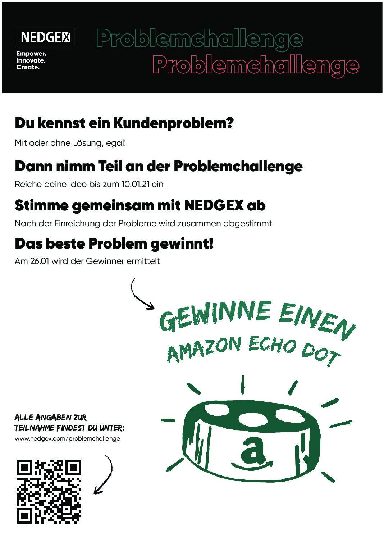 Runde zwei der NEDGEX Problemchallenge – jetzt Abstimmen!
